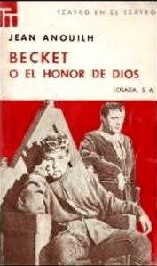 becket o el honor de dios
